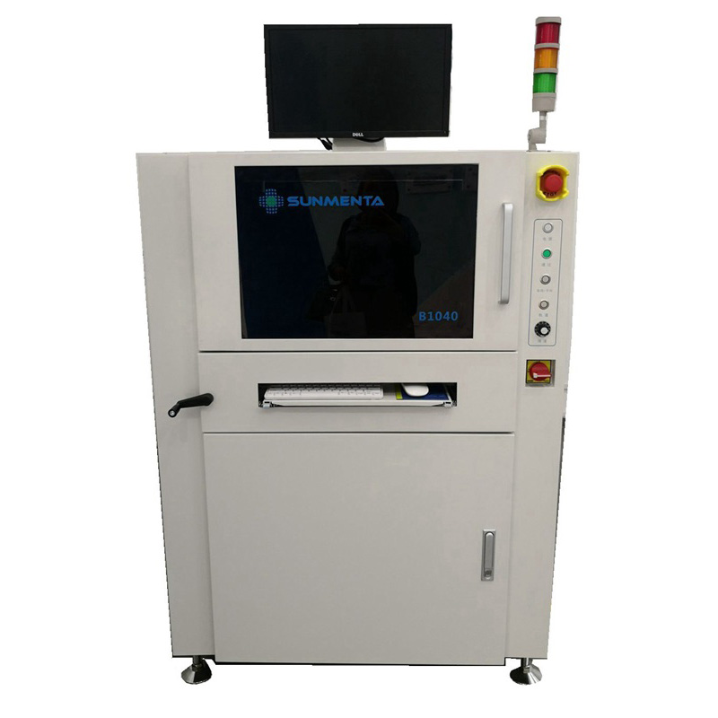 PCB Barcode Scanner Inspection Machine System